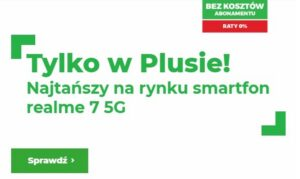 Plus realme 7 5G