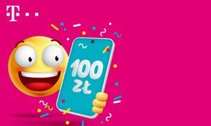 T Mobile voucher 100 zl